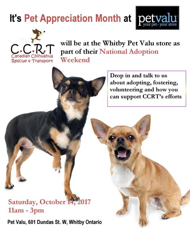 October 14 : Whitby Ontario
