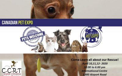 Canadian Pet Expo : April 10, 2020 10am – 6pm