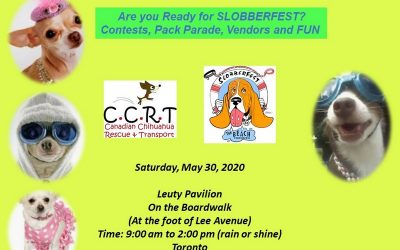 Slobberfest!  May 30,  9am – 2pm   Toronto